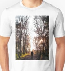 Man Walking Through the Forest T-Shirt