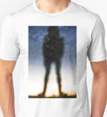 Reflection of a Man Unisex T-Shirt