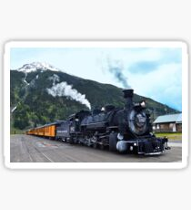 Silverton, Colorado, Train Stop Sticker
