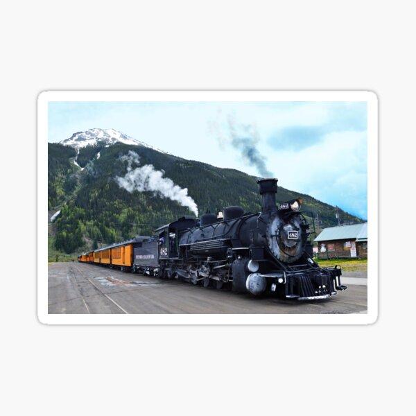 Silverton, Colorado, Train Stop Sticker