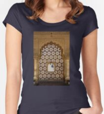 Amber Viewport Women's Fitted Scoop T-Shirt