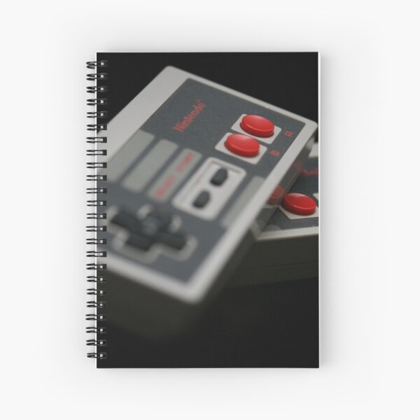 Nintendo Controllers Spiral Notebook