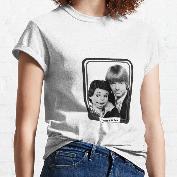 KRW Chuck and Bob from TV's Soap Classic T-Shirt