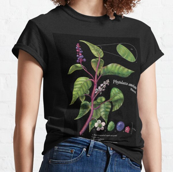 Pokeweed Illustration Classic T-Shirt