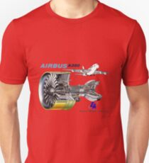 Airbus A 380 GP7000 Engine T-Shirt