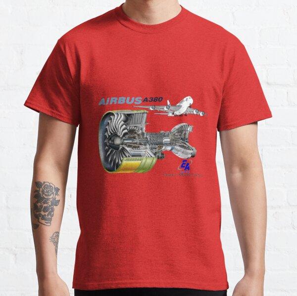 Airbus A 380 GP7000 Engine Classic T-Shirt