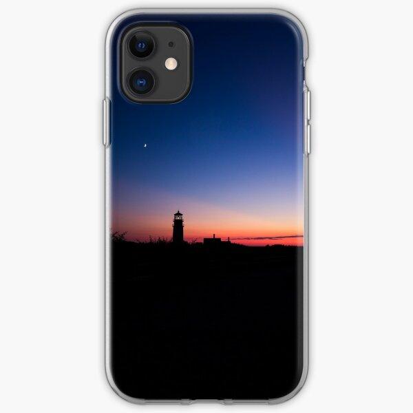 Sunset at the Highland Lighthouse iPhone Soft Case