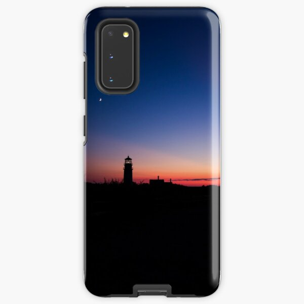 Sunset at the Highland Lighthouse Samsung Galaxy Tough Case
