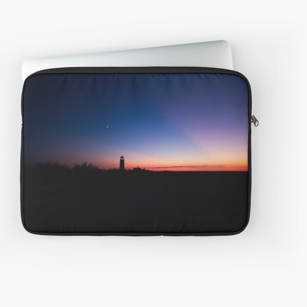 Sunset at the Highland Lighthouse Laptop Sleeve