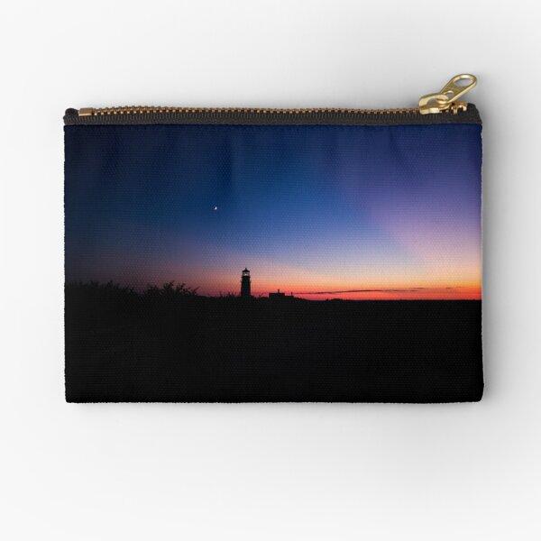 Sunset at the Highland Lighthouse Zipper Pouch