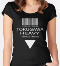 MGS - Tokugawa Heavy Industries - Black Women's Fitted Scoop T-Shirt