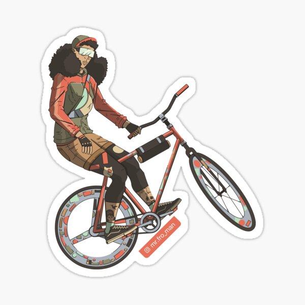Bicyclista Sticker