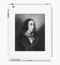 EUGENE DELACROIX,  PORTRAIT OF GEORGE SAND iPad Case/Skin