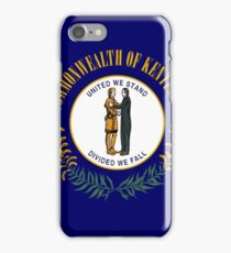Kentucky state flag iPhone Case/Skin