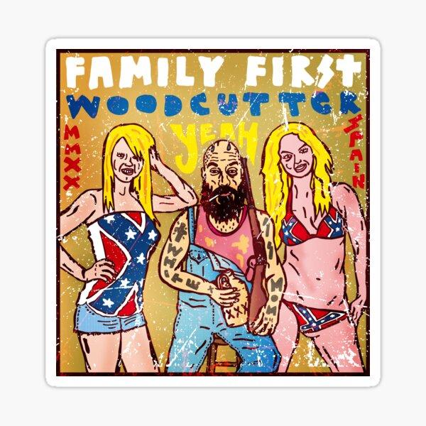 Family First Pegatina