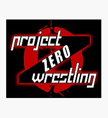 PZW [Project Zero Wrestling] Photographic Print
