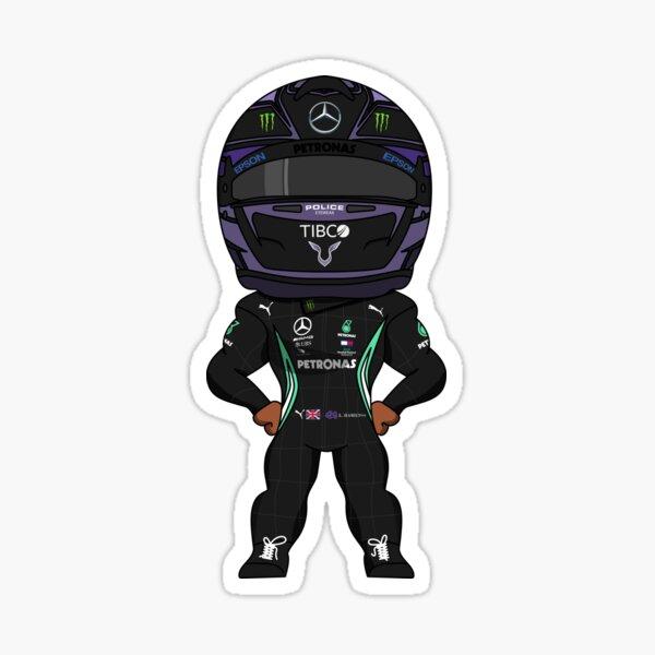 Lewis Hamilton Mercedes Petronas Formule 1 2020 Sticker