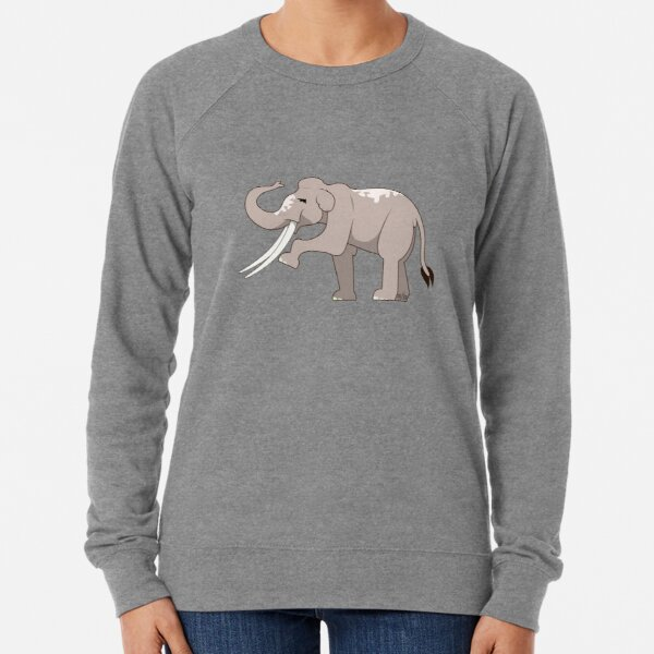 Palaeoloxodon namadicus Lightweight Sweatshirt