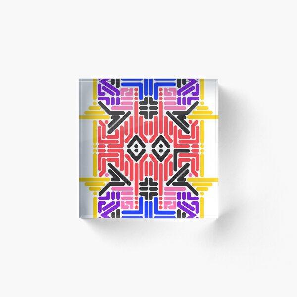 Machin Acrylic Block