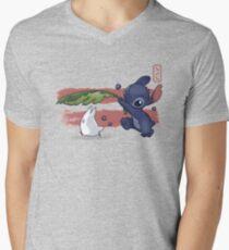 The Spirit of Ohana Men's V-Neck T-Shirt