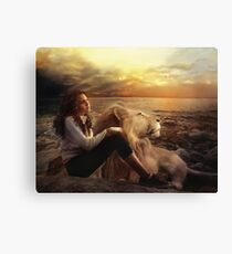 This side of Heaven Canvas Print