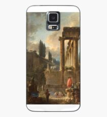 Figures amongst Ruins inspired by the Temple of Saturn Case/Skin for Samsung Galaxy