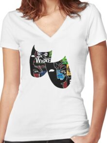 Broadway Women's Fitted V-Neck T-Shirt
