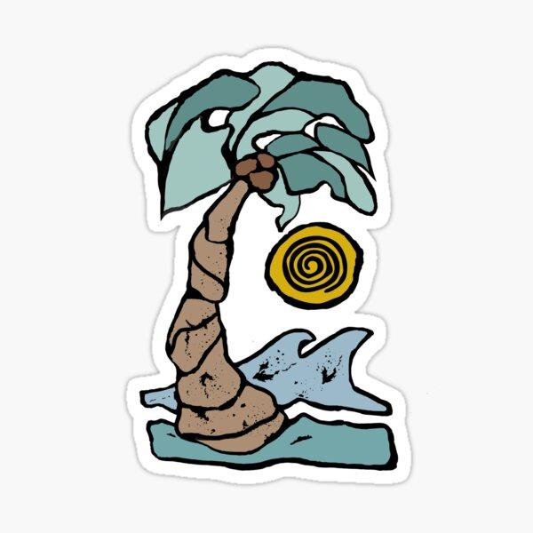 Palm Tree Sway Sticker