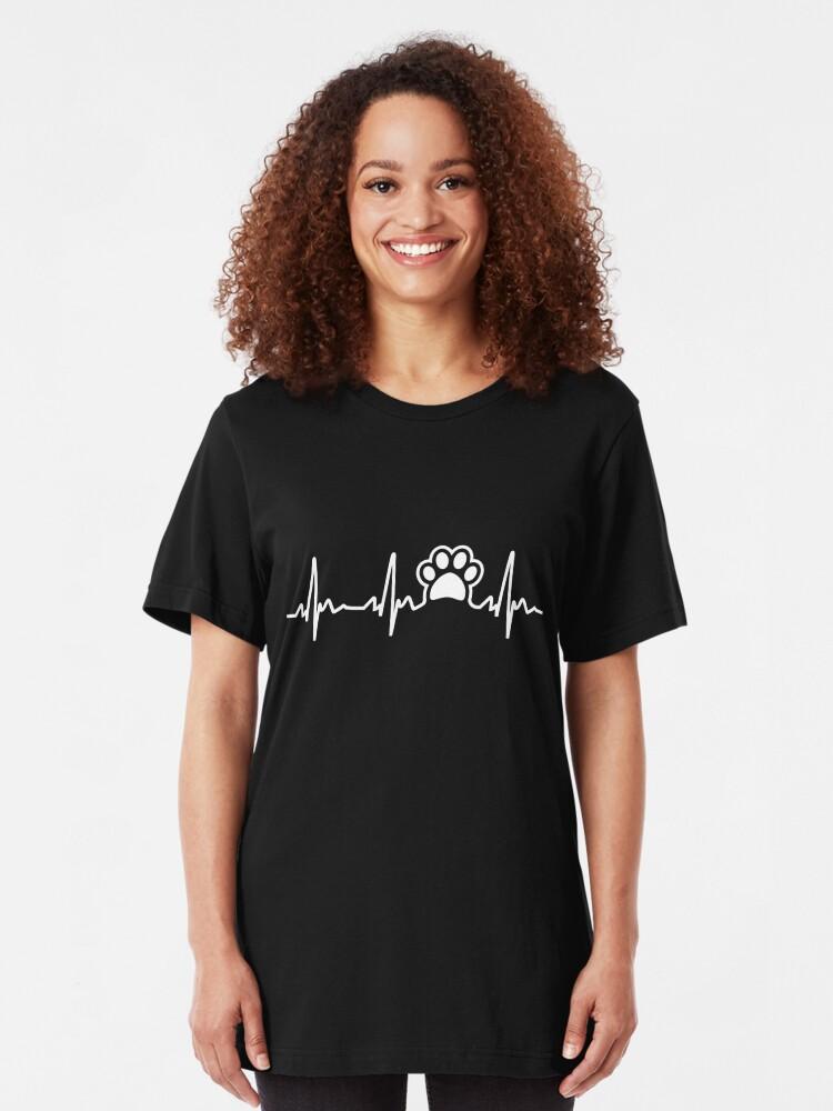Alternative Ansicht von Pfote Lifeline Slim Fit T-Shirt