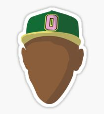 Tyler The Creator Face Illustration Sticker