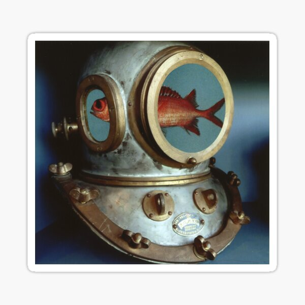 Diving Helmet Sticker