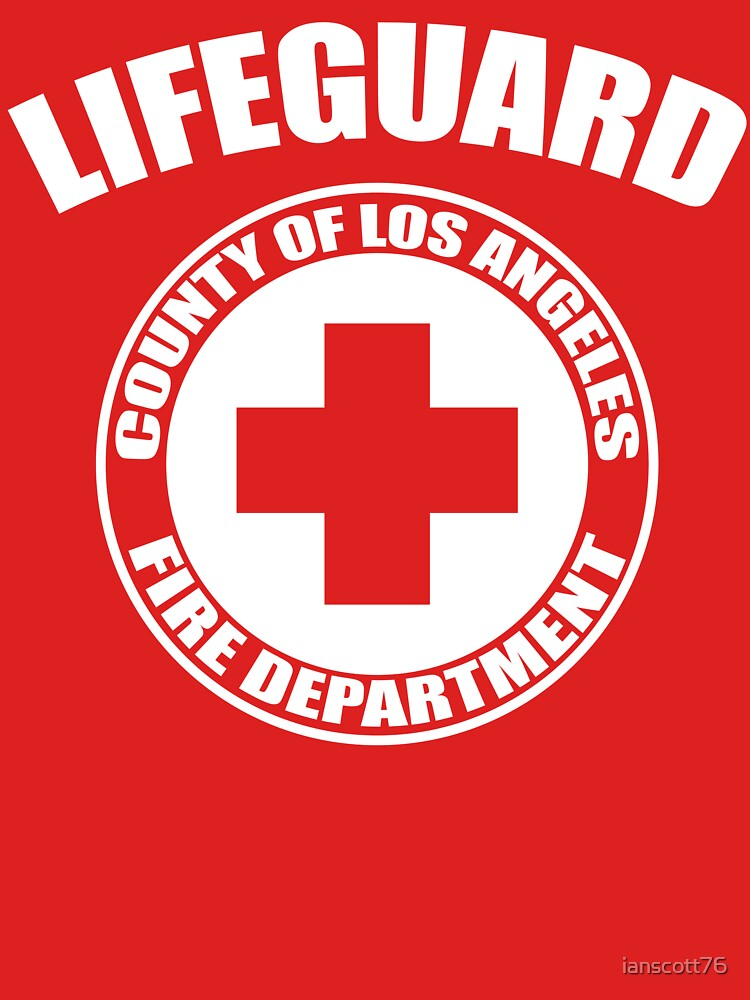 L.A. Co. Lifeguard - red by ianscott76