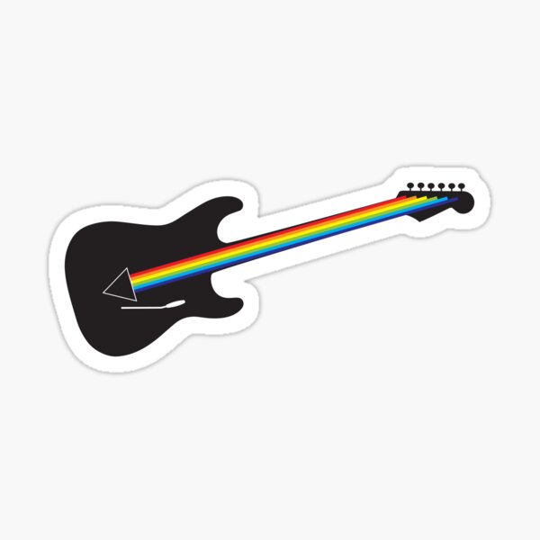 Darkside of the Mour Sticker