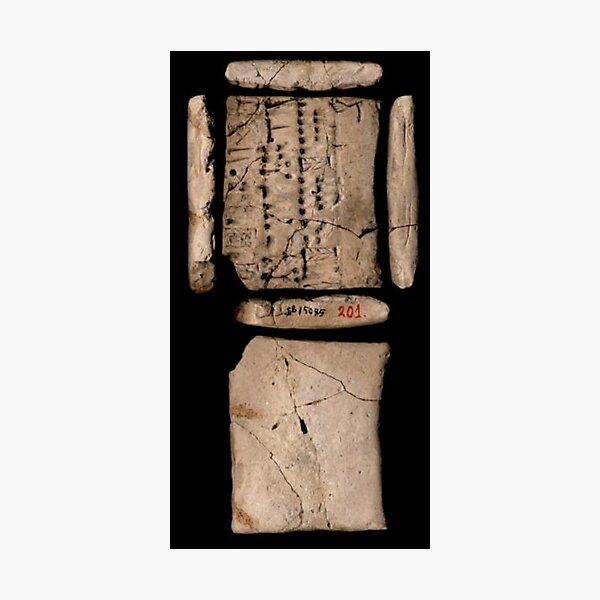 Hard Ancient Memory Photographic Print