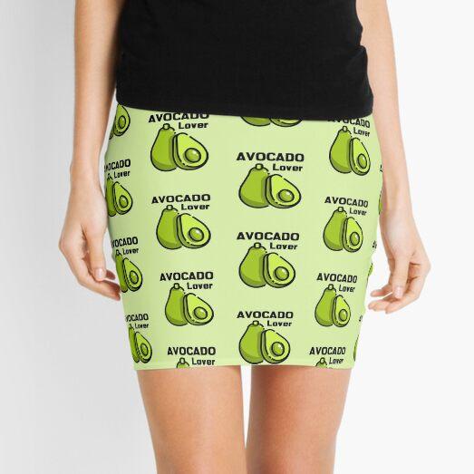 Avocado Lover Vegan Vegetarian Mini Skirt