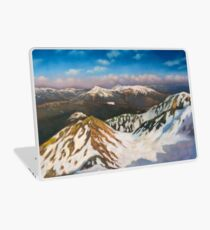 In the Mountains Laptop Skin