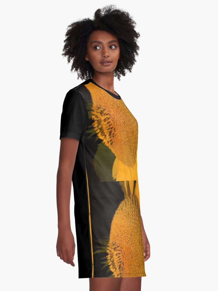 Alternate view of The  little tournasol By Yannis Lobaina Graphic T-Shirt Dress