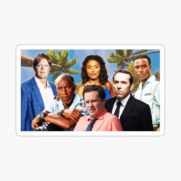 BBC Death in Paradise Sticker