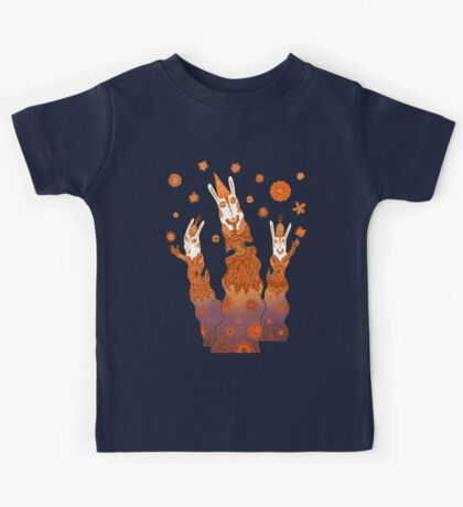 Psychedelic Rabbit Wizards  Kids Clothes