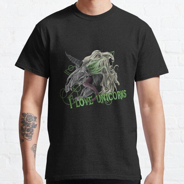 I Love Unicorns Classic T-Shirt