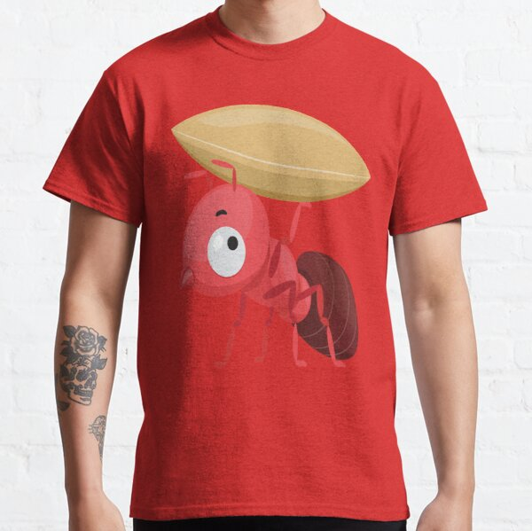 Ant Mascot Carrying Grain Classic T-Shirt