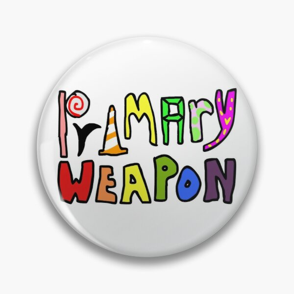 PRIMARY WEAPON Pin