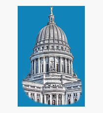 Wisconsin State Capitol Building Photographic Print