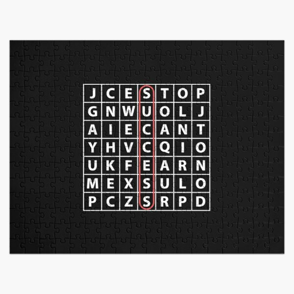 Crossword Clues Crossword Jigsaw Puzzles Redbubble