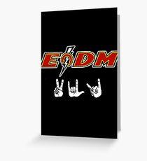 EODM - Peace Love Death Metal Greeting Card