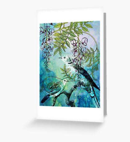 MY DOVES ARE BACK Greeting Card