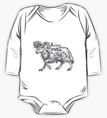 Aries 16th Century Drawing One Piece - Long Sleeve