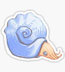 adequate ammonite Sticker
