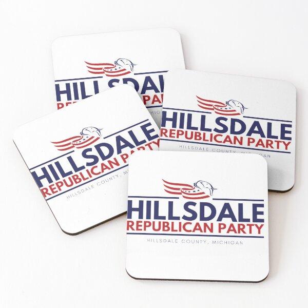 Hillsdale GOP Coasters (Set of 4)