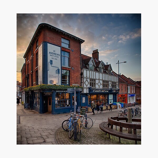 St Andrews Brew House, Norwich Photographic Print